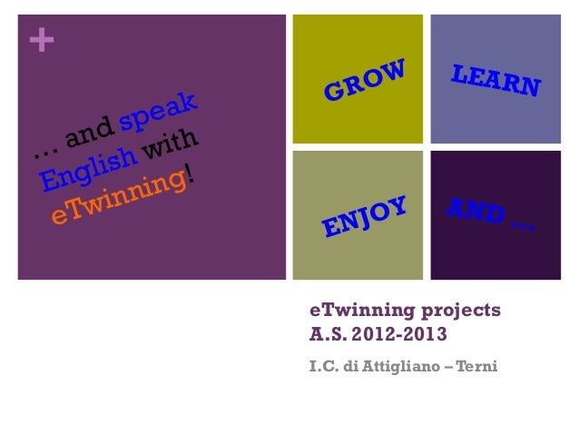 Etwinning projects ppt12 13