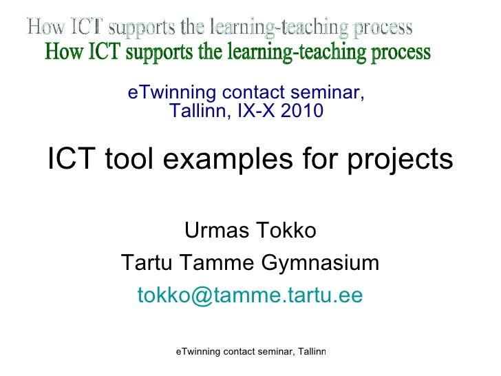 E twinning workshop_tln2010