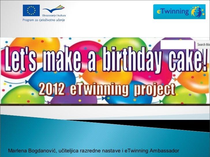 eTwinning- Let's make a birthday cake