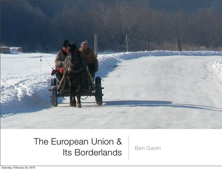 The European Union &                                                   Ben Gavin                                 Its Borde...