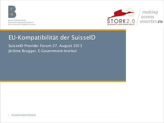 Berner Fachhochschule | Haute école spécialisée bernoise | Bern University of Applied Sciencest EU-Kompatibilität der Suis...