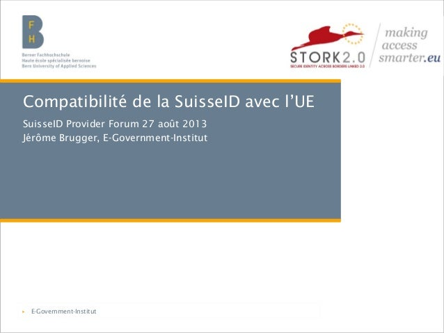 Berner Fachhochschule | Haute école spécialisée bernoise | Bern University of Applied Sciencest Compatibilité de la Suisse...