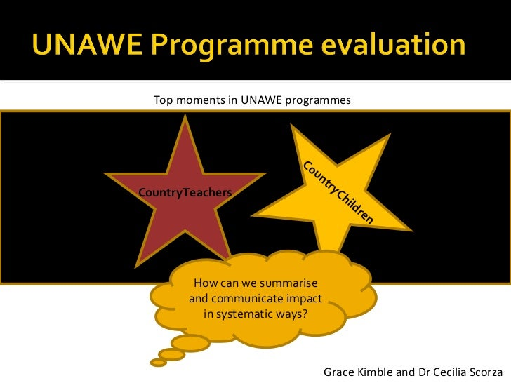 Top moments in UNAWE programmes                          Co                             un                                ...