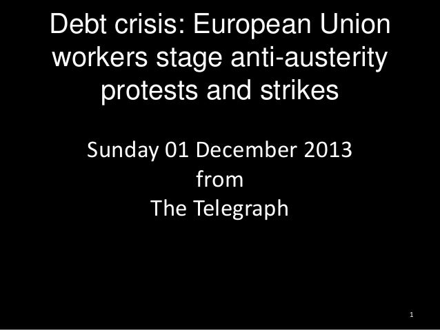 Eu austerity protests 2013
