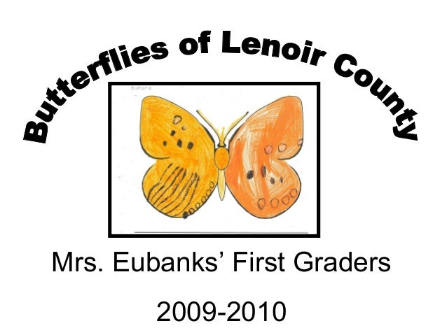 Mrs. Eubanks' First Graders 2009-2010