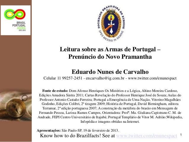 kpmg                     Leitura sobre as Armas de Portugal –                        Prenúncio do Novo Pramantha          ...