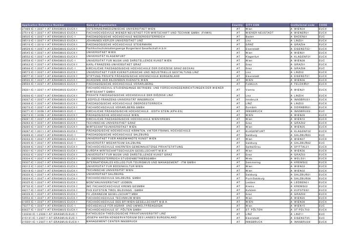 European Union Erasmus charter - academic_year_2012-2013