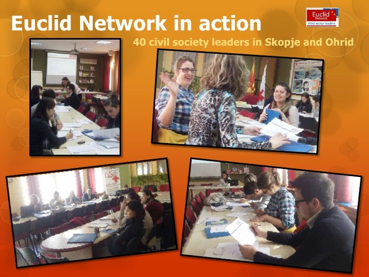 Euclid network in action - Macedonia
