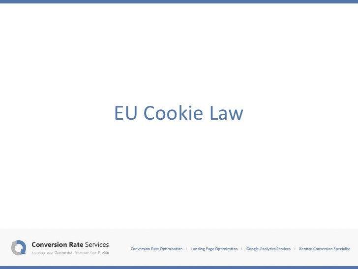 EU Cookie Law Examples at Conversion Thursday Belfast