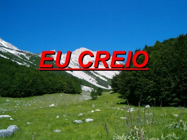 EU CREIO