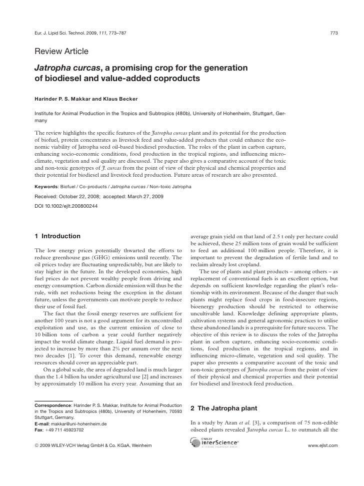 Eur. J. Lipid Sci. Technol. 2009, 111, 773–787                                                                            ...