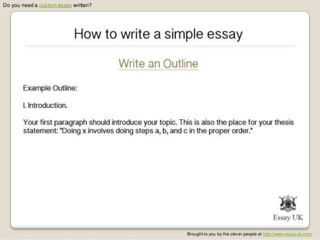 key to simplicity essay