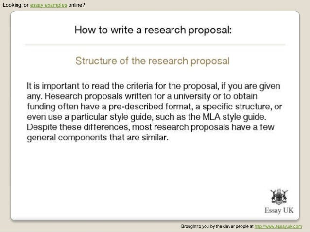 Define a proposal essay