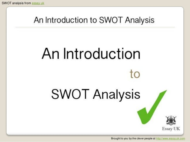 An Introduction To SWOT Analysis