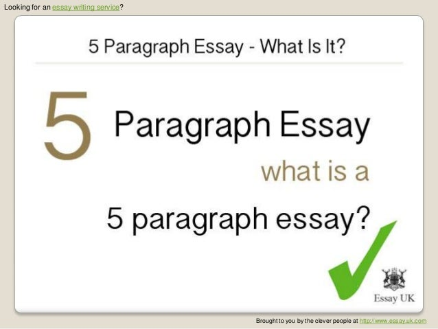 5 Paragraph Essay - What Is It?