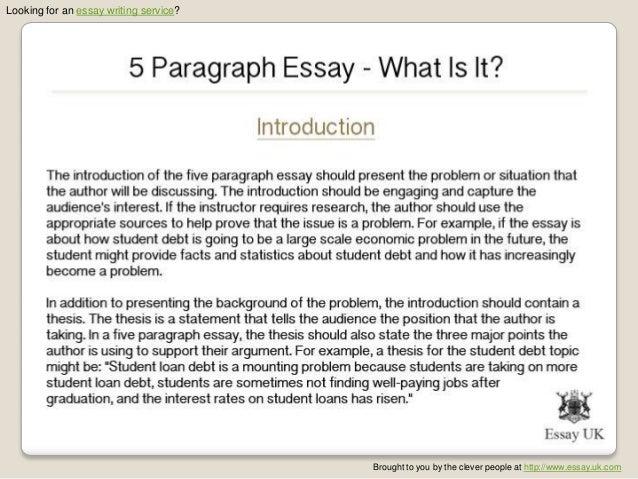 5 Paragraph Essay ,,?
