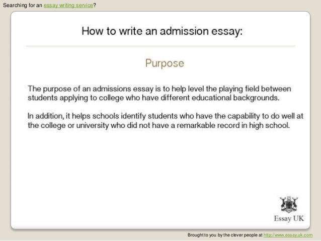 Custom admissions essays uk review