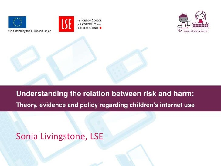 Understanding the relation between risk and harm. EU Kids Online.