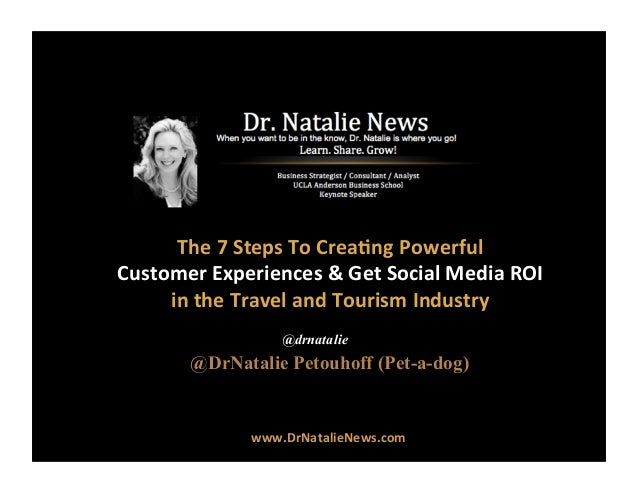 7 Steps To Travel Industry Social Media Mastery by @DrNatalie #DrNatalie