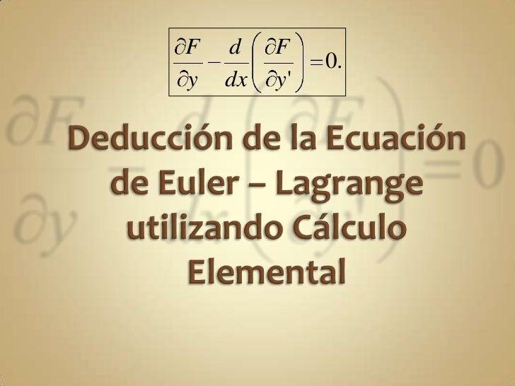 F   d    F              0.y   dx   y