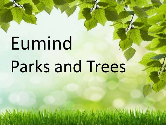 Eumind parks and trees map
