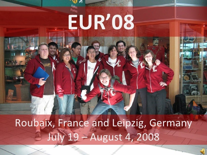 Eur08 Slideshow