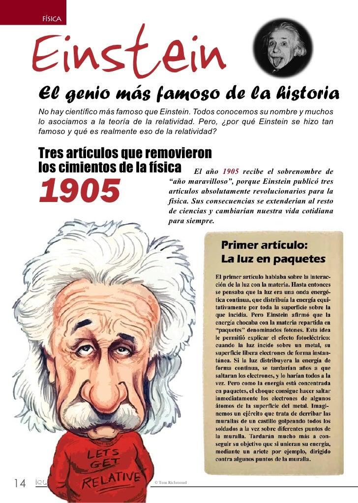 Einstein          FÍSICA              El genio más famoso de la historia          No hay científico más famoso que Einstei...