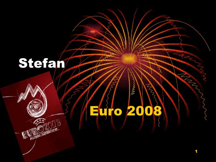 Euro 08 par Stefan Milojkovic