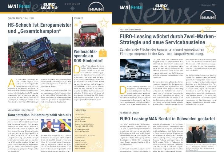 Euro-Leasing | Newsletter | Dezember 2011
