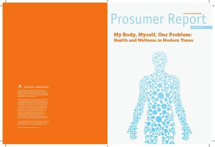 Prosumer Report Health Wellness