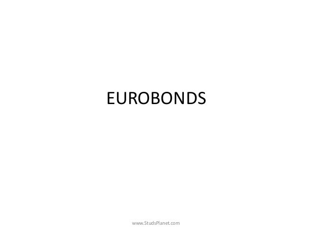 EUROBONDS www.StudsPlanet.com