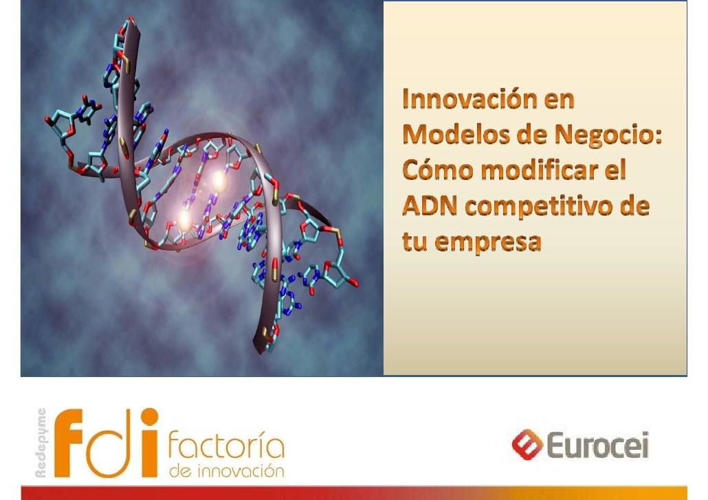 Innovación en modelos de negocio: cómo modificar el ADN competitivo de tu empresa