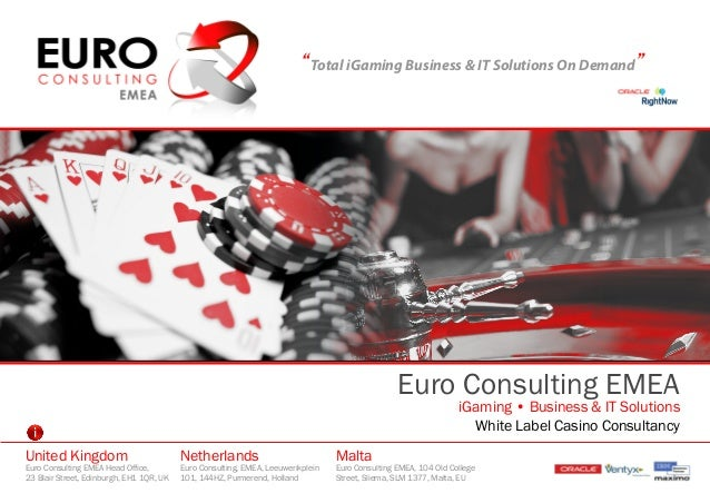 Euro consulting iGaming solutions & white label  casino consultancy