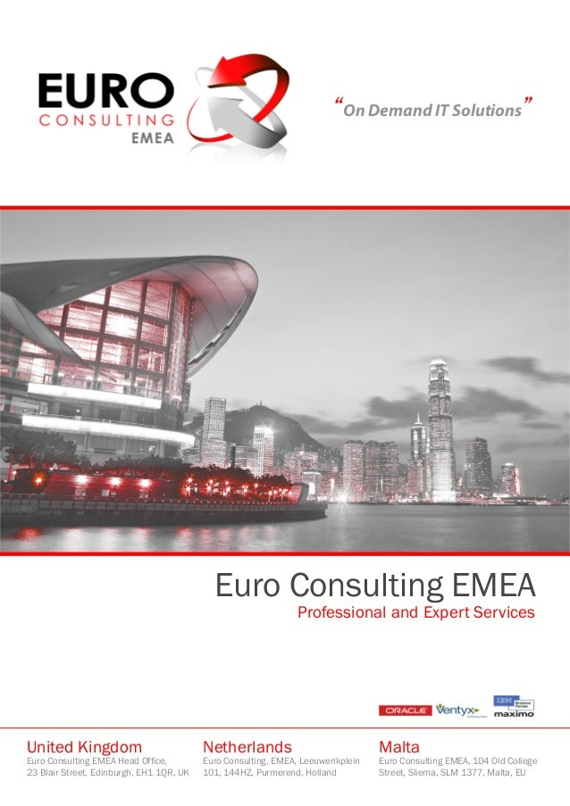 Euro Consulting EMEA Introduction