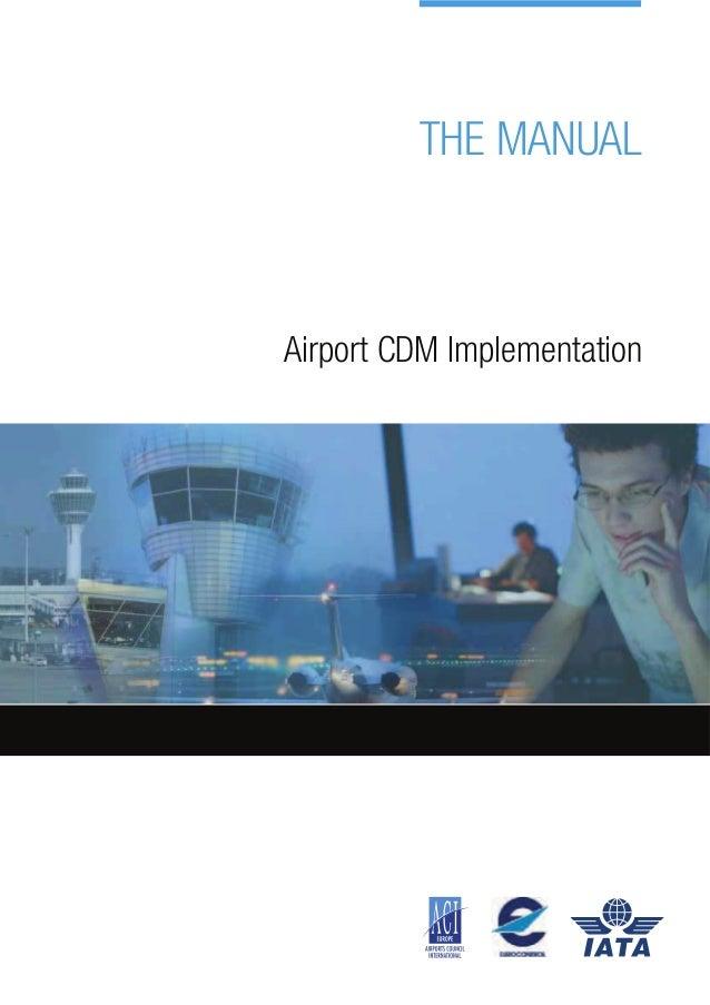 Eurocontrol cdm implementation manual
