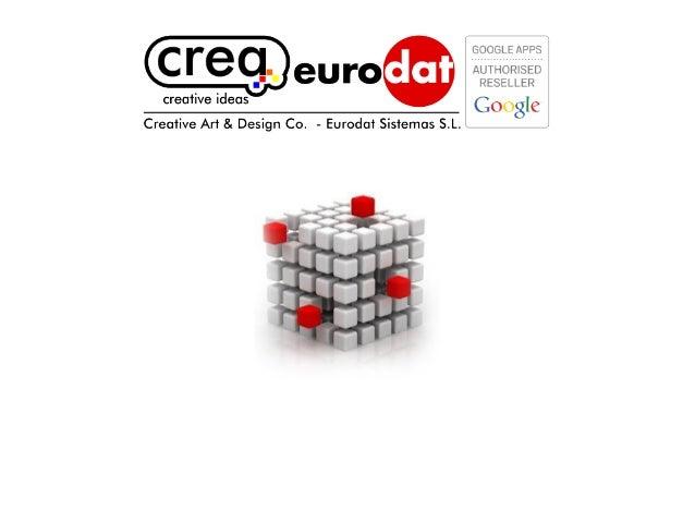 Eurodat sistemas   crea design sales presentation