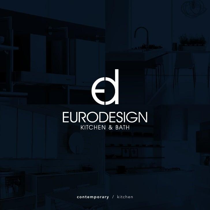 Euro Design Contemporary Kitchen Brochure