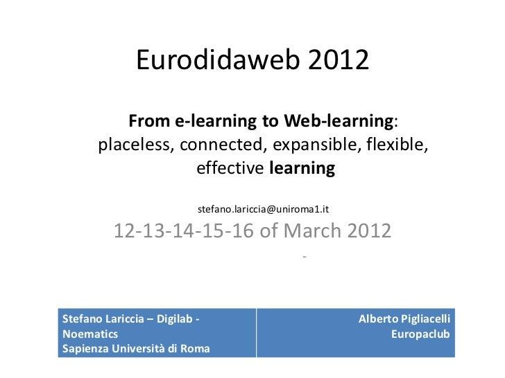 Eurodidaweb2012 03-13