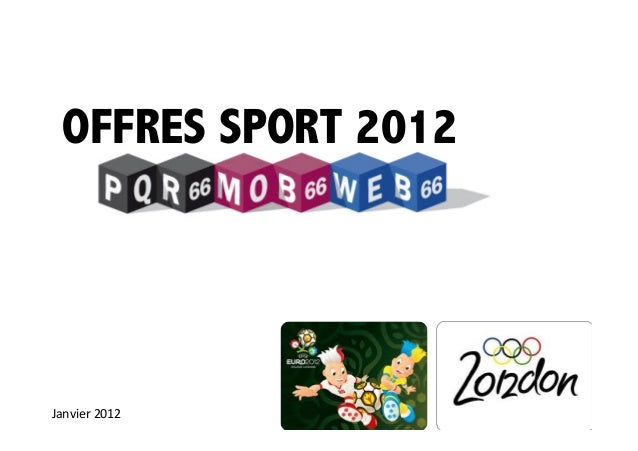 Offres SPORT 2012