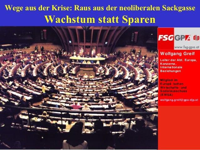 Eurokrise fsg gpa-djp (oktober 2012)