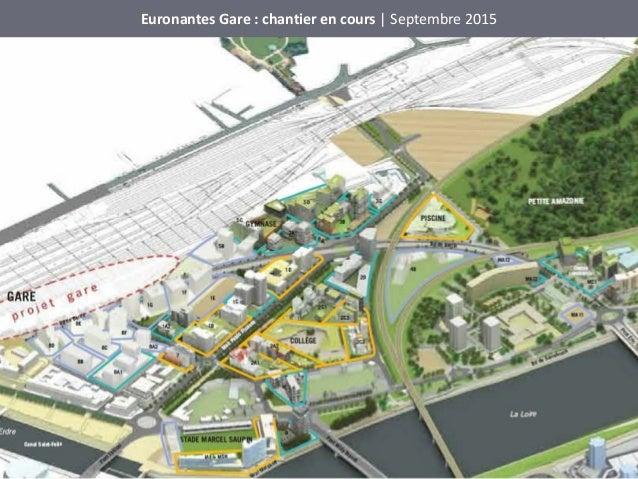 Euronantes Gare : chantier en cours | Septembre 2015