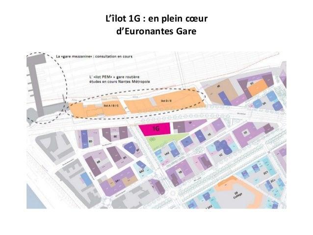 L'îlot 1G : en plein cœur d'Euronantes Gare