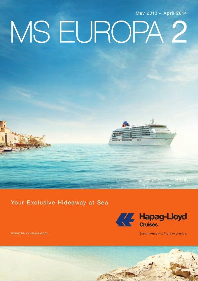 Hapag-Lloyd: Europa 2