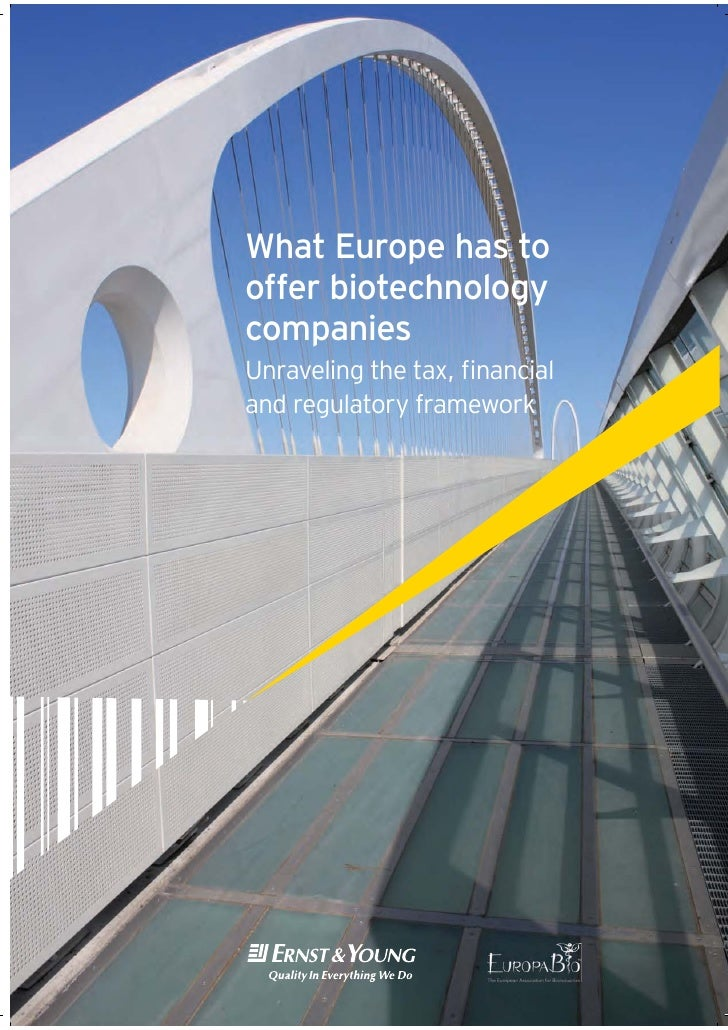 Europabio and ernst -young report