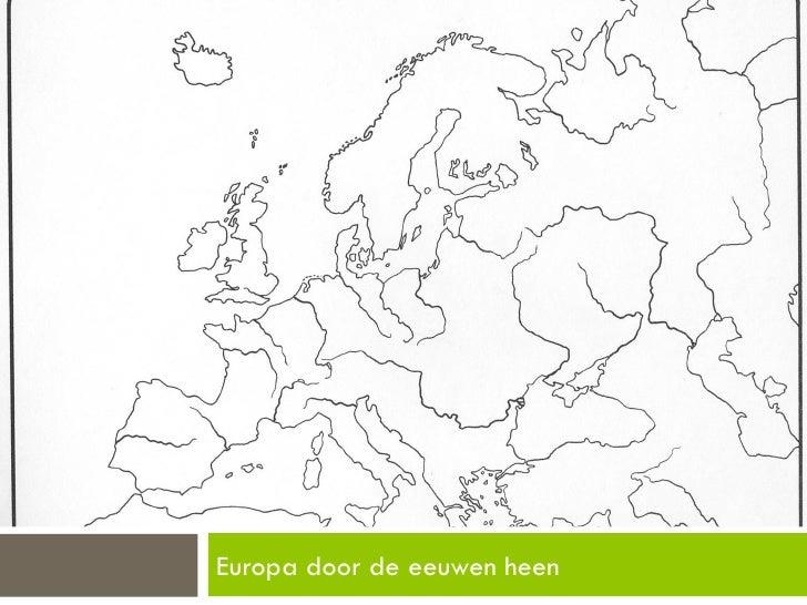 Europa door de eeuwen heen