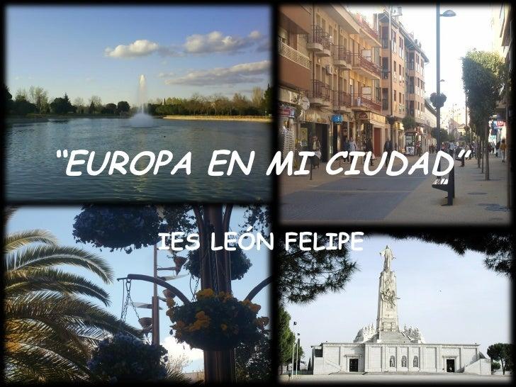 Europa en mi ciudad