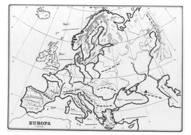 Europe_physical map