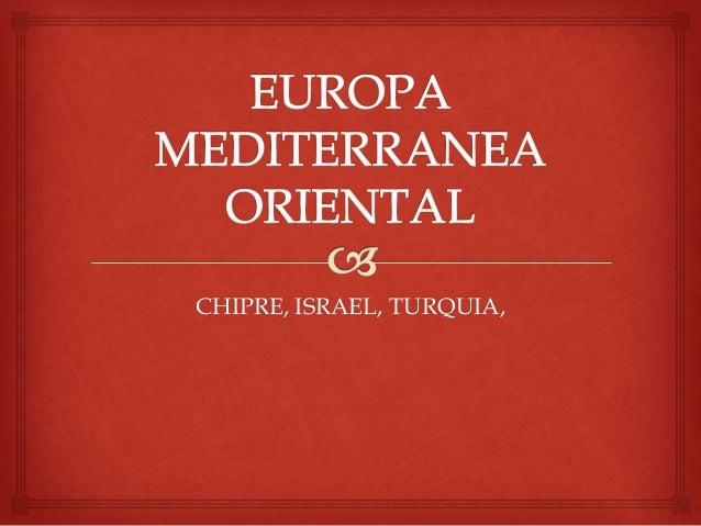Europa mediterranea oriental