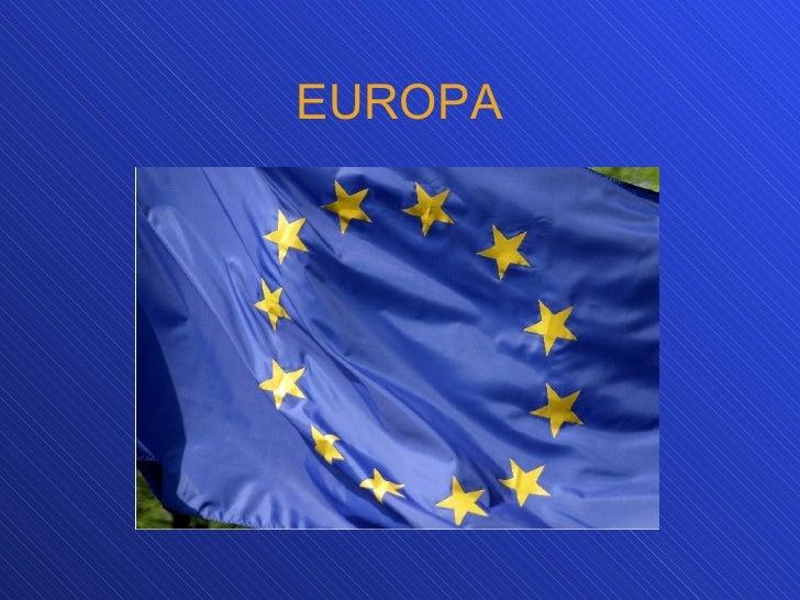 Europa: Rasgos naturales y medioambientales