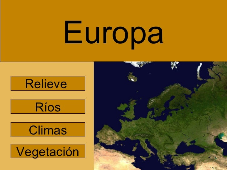 Europa paisajes